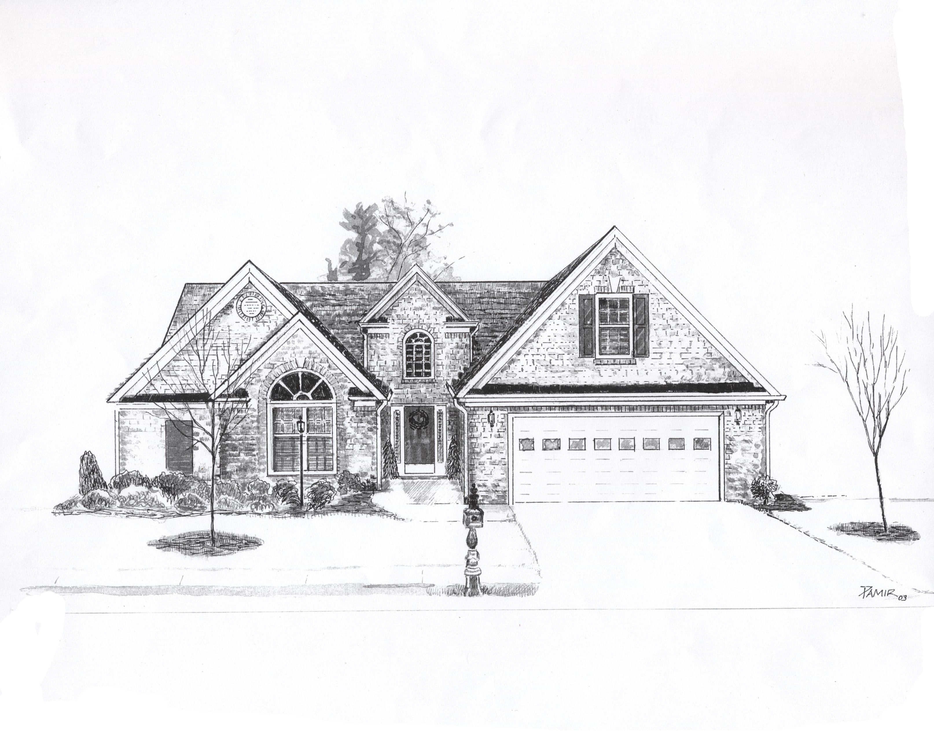 House drawings house style pictures Draw your house