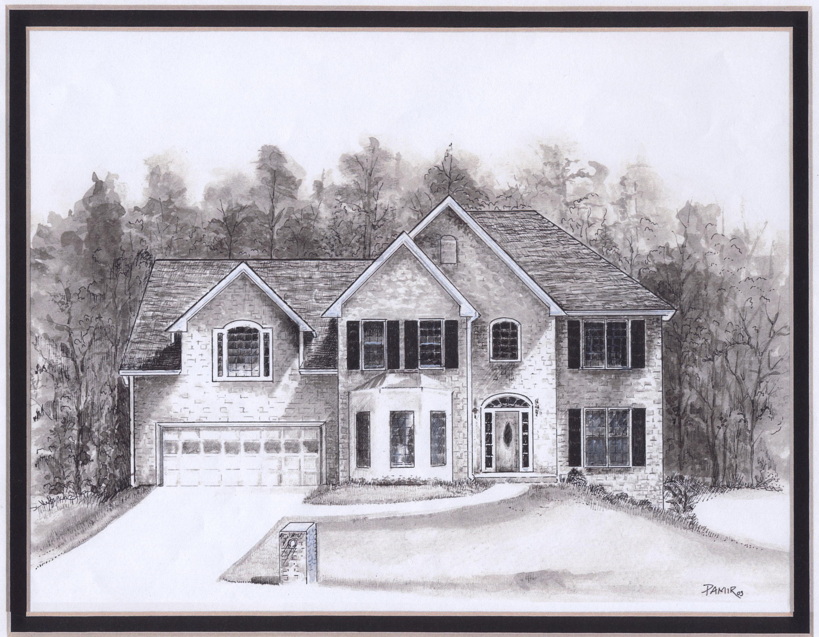 House Drawings Style Pictures